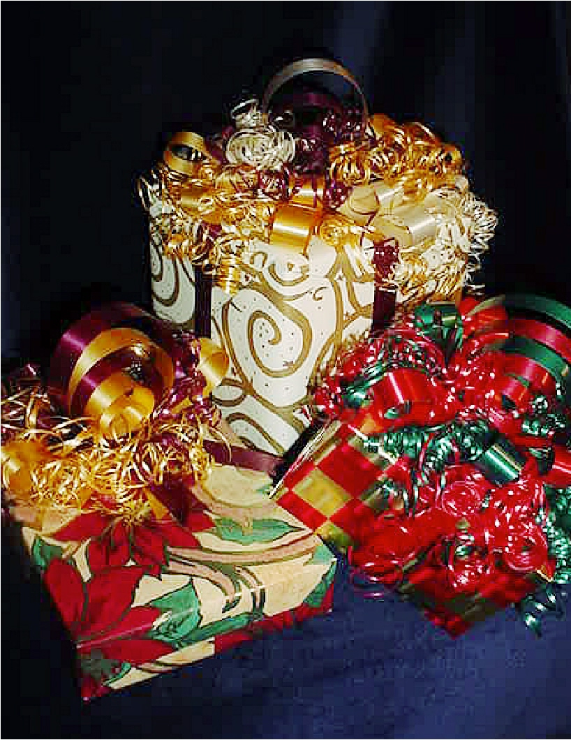 Christmas Season FREE Handmade Crafts Gift Wrapping